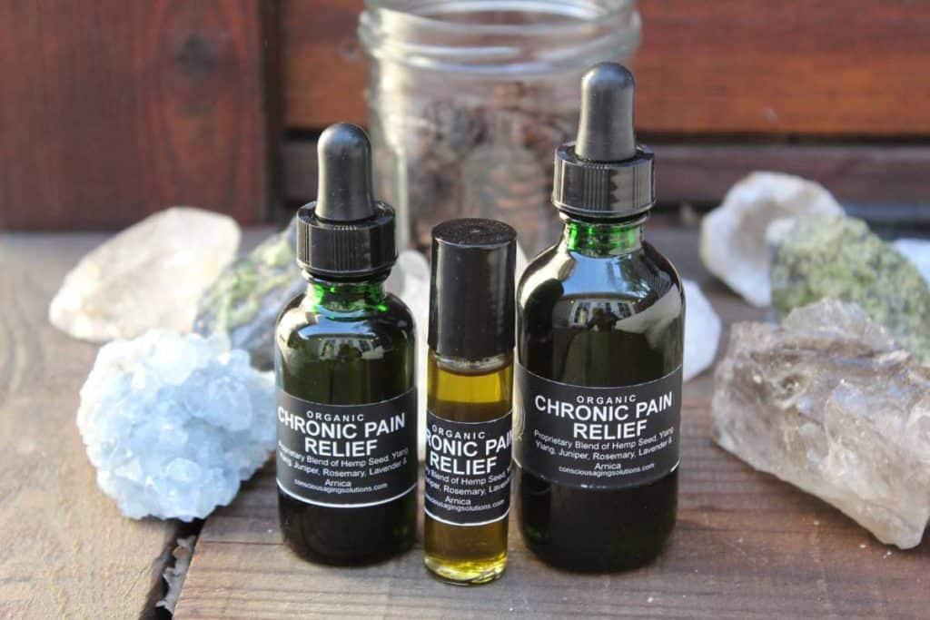 Organic chronic pain relief