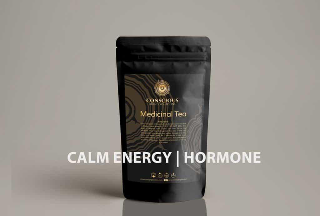 Conscious Aging Solutions Calm Energy-Hormone Tea